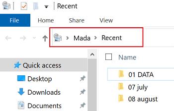 recent-files-file-explorer