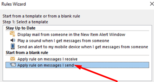 outlook-rule-for-sent-messages